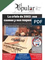El Popular N° 208 - 16/11/2012