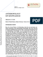 Anthropology of Knowledge-crick