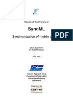 SyncML Enquiry