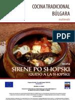 Receta Bulgara - Queso a la Shopski