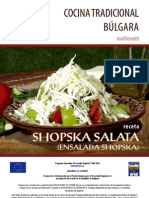 Receta Bulgara - Ensalada Shopska