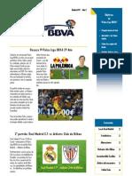 Boletin Palco Liga BBVA 2º año 2ª Edicion IMPRIMIR