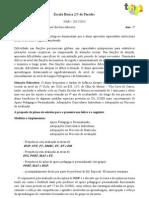 Francisco Plano de Estudos
