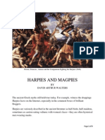 Harpies and Magpies by David Arthur Walters