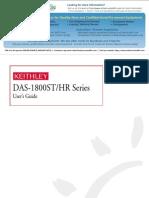 Keithley Das 1800 Series Manual