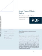 Moral View of Market Society