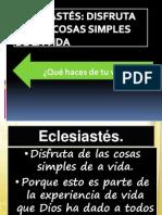 Eclesiastés IBE Callao # 3