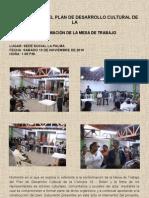 CONFORMACIÓN MESA DE TRABAJO PDC C16