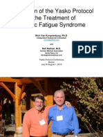 Application of Yasko Protocol to the Treatment of Chronic Fatigue Syndrome by Rich Van Konynenburg (Ph.D.) and Neil Nathan (M.D.)