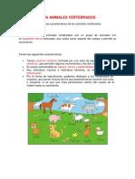 Guia de Animales Vertebrados e Invertebrados