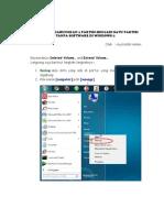 Menggabungkan Partisi Harddisk Di Windows 7