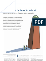 Rodrigo. J. García. Los poderes de la sociedad civil