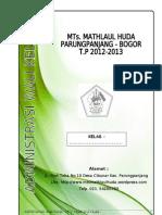 Administrasi Wali Kelas 2012-2013 (MTs)