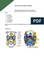 w Heraldry Template PDF