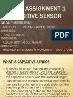 Capacitive Sensor Power Point