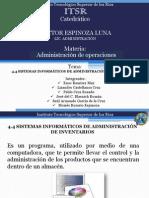 Sistemas Informaticos de Inventarios