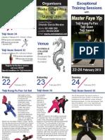 Master Faye Yip Course Brochure