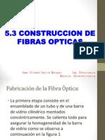 5.3 Construcción de fibras ópticas