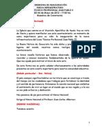 CEREMONIA DE INAUGURACIÓN NUEVA INFRAESTRUCTURA LICEO TÉCNICO PROFESIONAL JUAN PABLO II