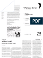 The Platypus Review, № 23 — May 2010 (reformatted for reading; not for printing)