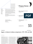 The Platypus Review, № 33 — March 2011 (reformatted for reading; not for printing)