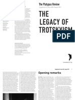 The Platypus Review, № 38, Supplement on the Legacy of Trotskyism — August 2011 (reformatted for reading; not for printing)