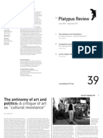 The Platypus Review, № 39 — September 2011 (reformatted for reading; not for printing)