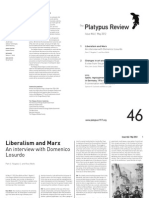 The Platypus Review, № 46 — May 2012 (reformatted for reading; not for printing)