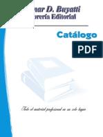 Catalogo Fondo Editorial Buyatti - 2012