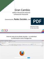 Charla Comunicacion Redes y Mktg Junio 2012