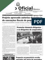 Promotor Jose Carlos Blat do MPSP anuncia oferecimento de denúncia contra dirigentes da Bancoop 2010