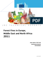 Forest Fires in Europe 2011