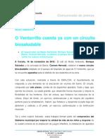 141112 Nota MEDIO AMBIENTE_Circuito Biosaludable