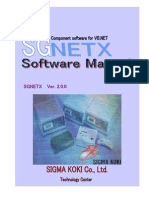 SGNETX Software Manual