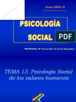 Tema 13 (Psicologia Social)