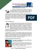 1.La Seguridad Social en Colombia