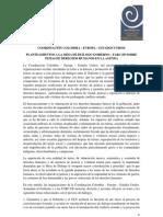 Pronunciamiento de la CCEEU para Mesa de Diálogo Gobierno - FARC - EP-1