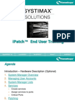 000 - iPatch End User Training - Agenda1