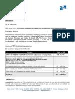 2074fy Cotizacion Ascensor Vip Gearless Yd02 15p 1000kg Edificio Bicentenario Moneda