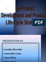 New Product Development and Product Life Cycle