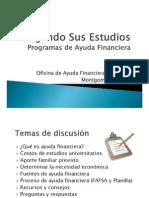 Pagando Sus Estudios Programas de Ayuda Financiera 2013-2014 from meeting @AEHS
