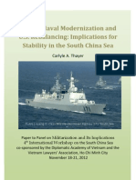 Thayer China's Naval Modernization and U.S. Strategic Rebalancing