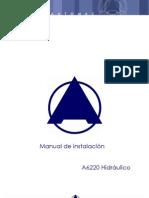 Manual de Instalación A6220 Hidráulico V13