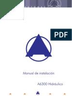 Manual de Instalación A6300 Hidráulico V12