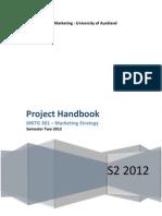 MKTG 301 Project Handbook