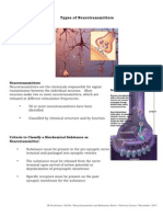 neurotransmission notes 3