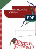Plan de Negocio Qhatu Peru - Modelo Referencial