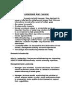 Orgbehavior12-Leadership and Change