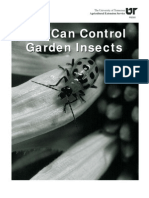 You Can Control Garden Insects