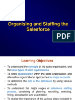 Staffing of Salesforce